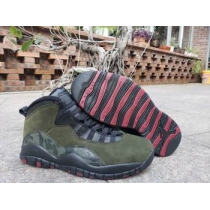 cheap nike air jordan 10 shoes men