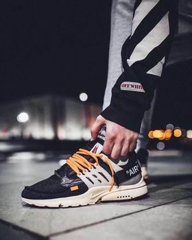 china Nike Air Presto shoes off-white discount