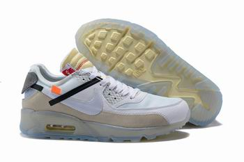 new style 1637e e2068 china cheap Nike Air Max90 X Off White shoes free shipping