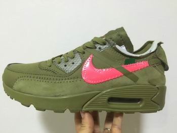 china cheap nike air max 90 shoe off white online