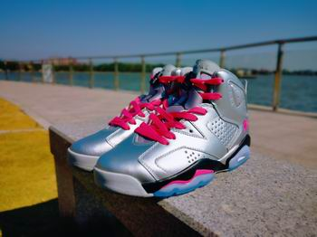 wholesale nike air jordan 6 shoes aaa women